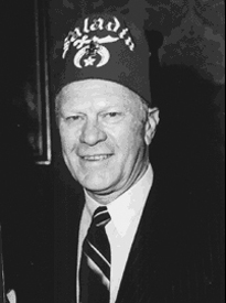 Shriner Freemason Gerald Ford