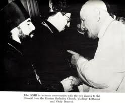 John XXIII giving another Masonic handshake