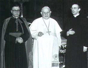 John XXIII (1958-1963) with fellow occultist Jose Escriva