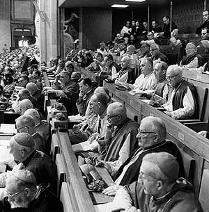 Vatican II Council voting