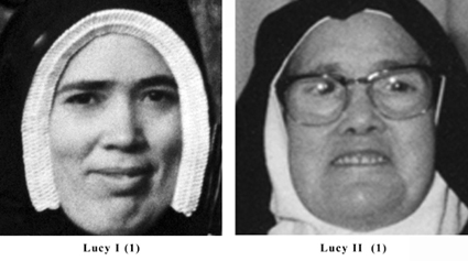 The Real Sister Lucia and the Freemasonry's impostor Sister Lucy - Half Smile