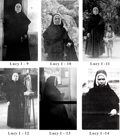 Sister Lucia various poses