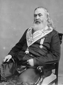 Freemason Albert Pike, leader of the organization in the 1800's