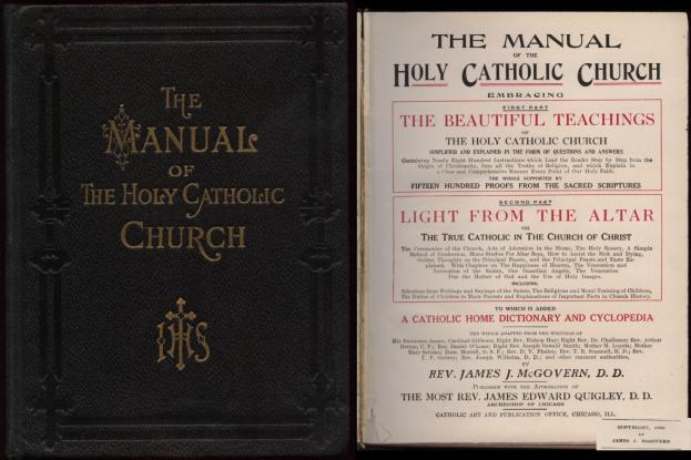The Manual of the Holy Catholic Church