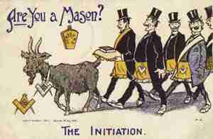 The Masonic Initiation Ceremony