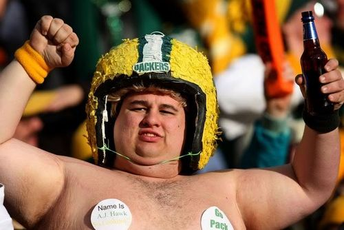Green Bay Packers supporter