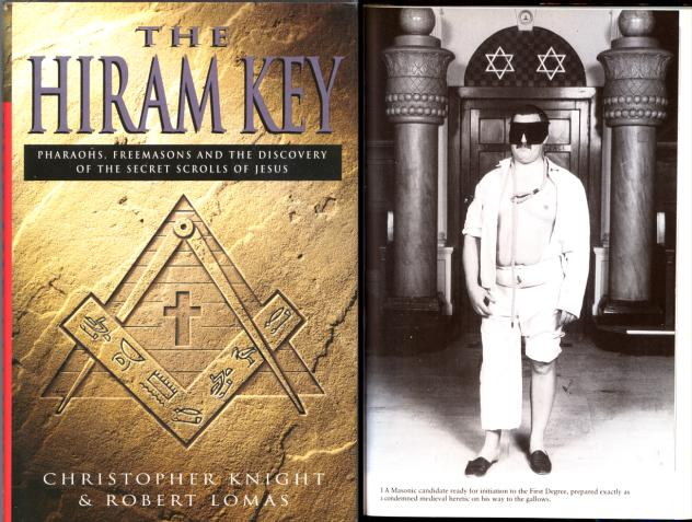 The Masonic initiation is rooted in Judaism