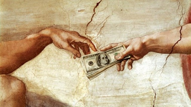 The Lord's chosen ones distribute cash in Masonic Lodges, which ends up being used to run corporations, governments and law enforcement enterprises