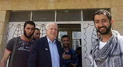 McCain poses for photo op with ISIS in 2013