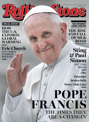 Antipope Francis Cover of Rolling Stone