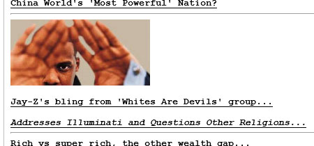 Drudgereport runs Illuminati story on 4-6-2014
