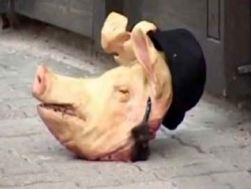 Pigs Head sent to Rome Synagogue