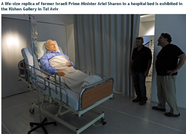 Breathing Ariel Sharon wax