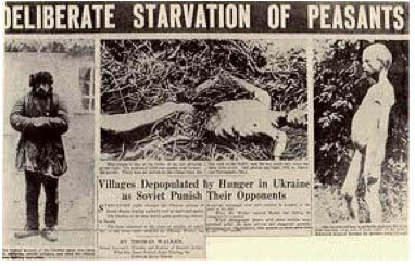 Stalin's murder of 8 million Ukrainians