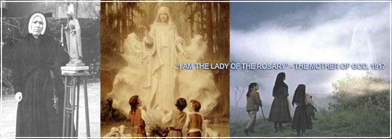 "God identified Herself not as Mary, but as the ""Lady of the Rosary."