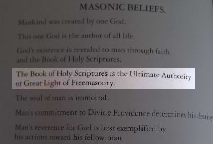 This is why the Catholic Church originally rejected the Bible as heresy. It is promoted by Freemasonry for the reason of promoting heresy, to trick people into Hell with its intentional errors.