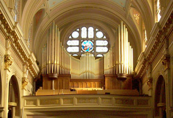 Catholic Church Pipe Organ