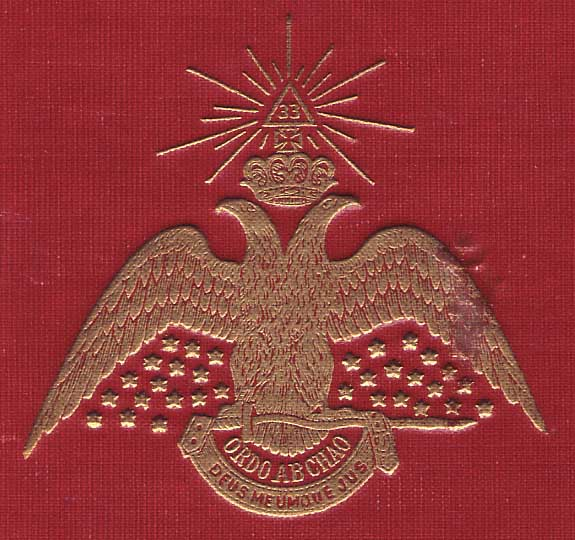 The symbol of Freemasonry - the double-headed eagle