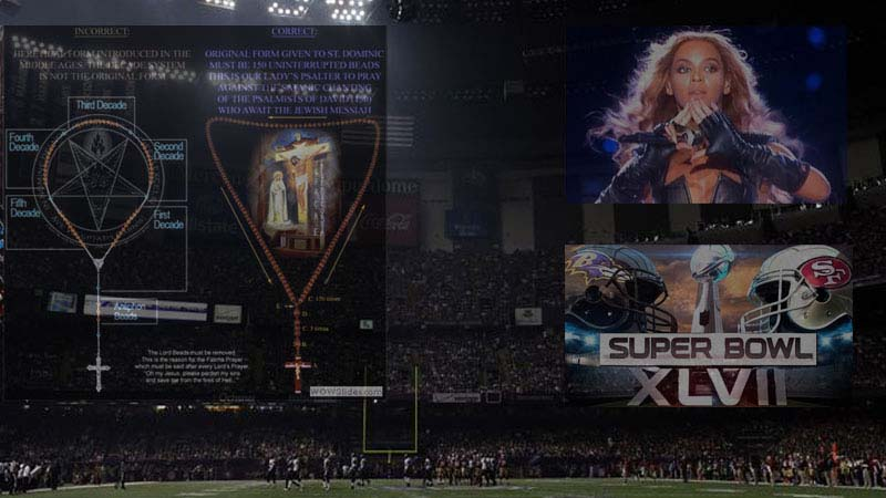 Superbowl XLVII lights out with the Rosary