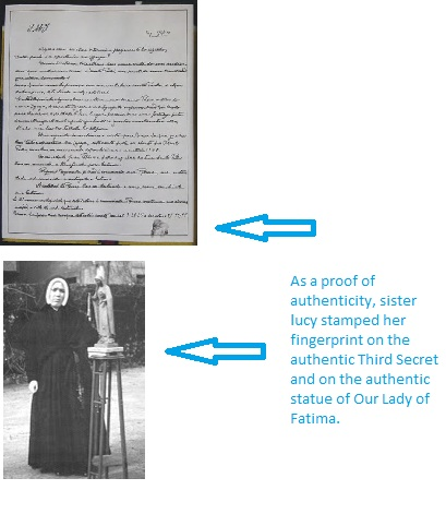 Sister Lucia's reputation created problems for Freemasonry.