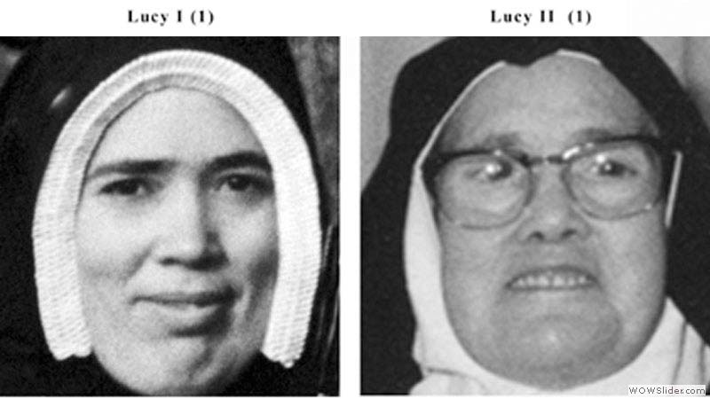 Freemasonry murdered St. Lúcia of Fátima in 1958 and replaced her with this actress to validate Satan's Revolution in Rome. The evidence is now viral.