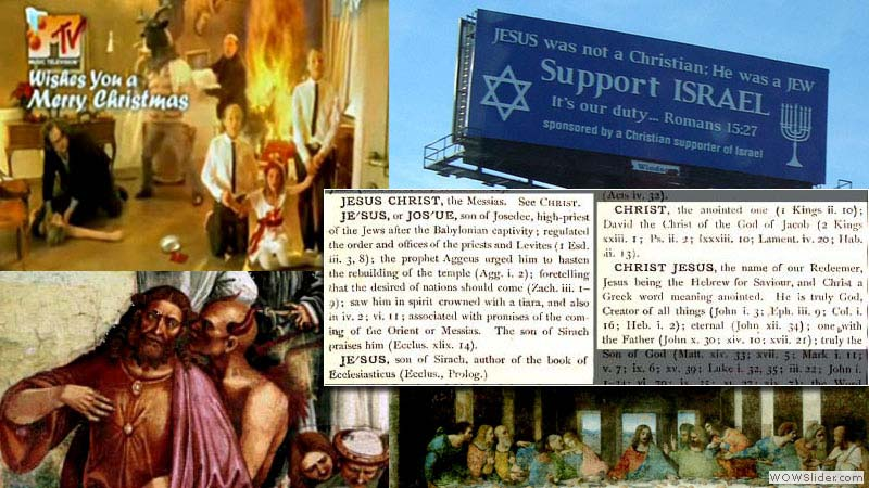 The heretical Masonic Jesus is exposed as a biblically sized, massive fraud.