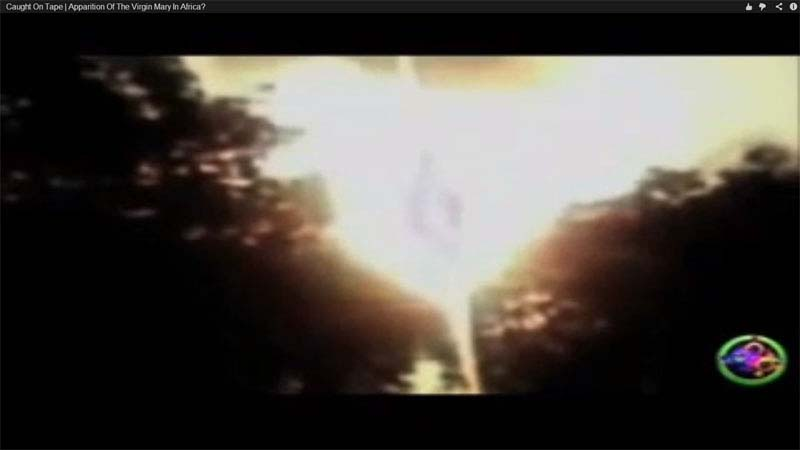 Video of God appearing in the sky in Africa on the one-year anniversary of the release of our Third Secret of Fatima.